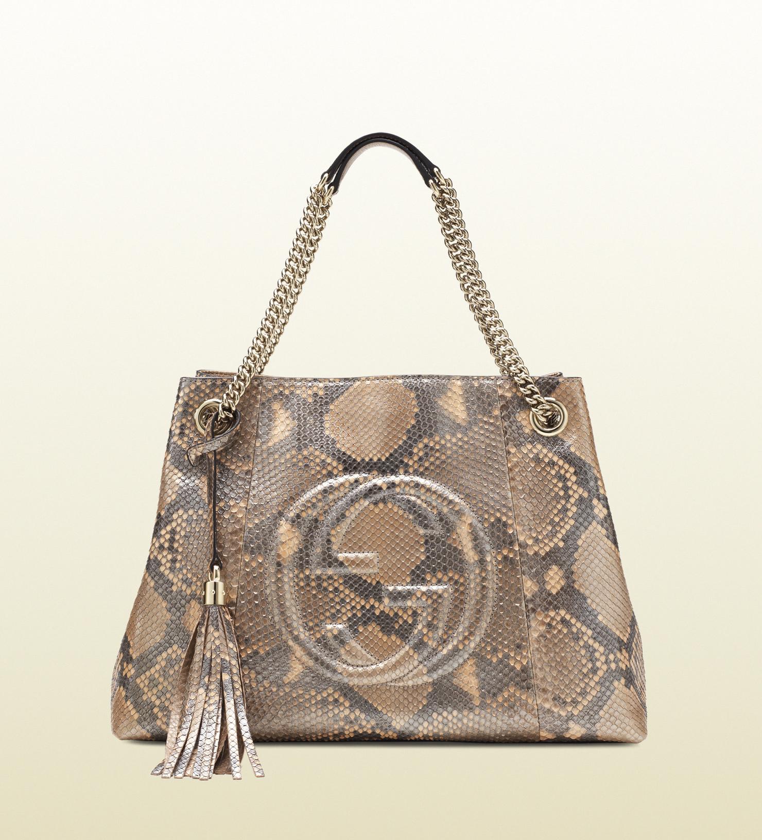 32a1f443784e Gucci Python Handbag - Foto Handbag All Collections Salonagafiya.Com