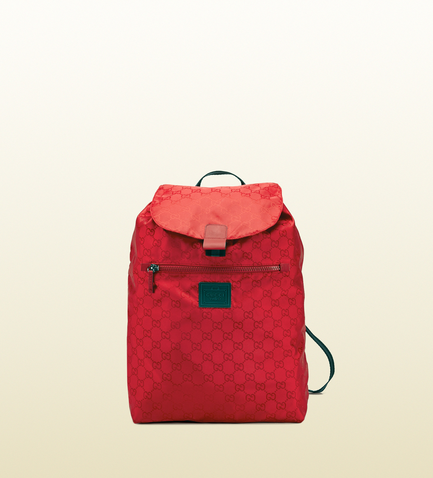 db9af77549 Gucci Gg Nylon Backpack From The Viaggio Collection in Red for Men ...