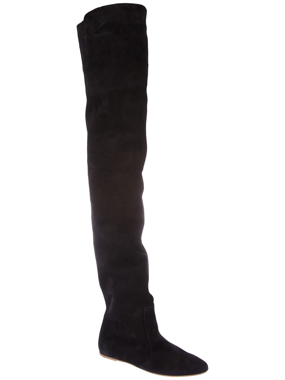 marant thigh high boot in black lyst