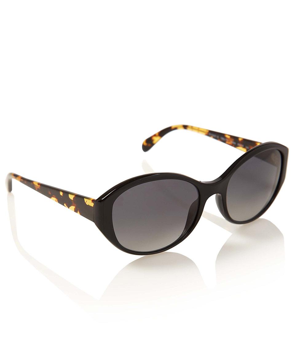 Oliver Peoples Black Addie Sunglasses