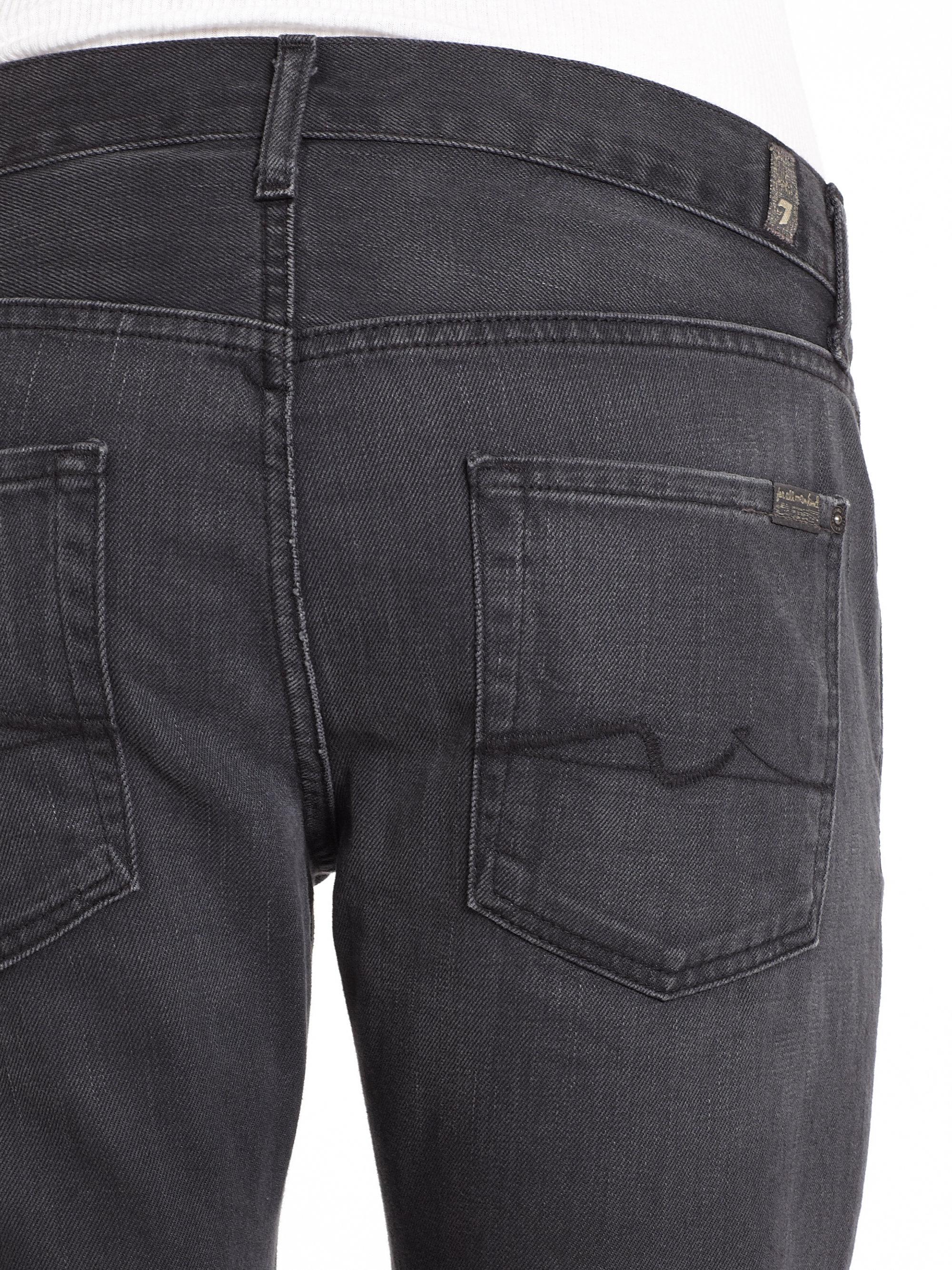7 for all mankind Carsen Straight Leg Jeans in Gray for Men   Lyst