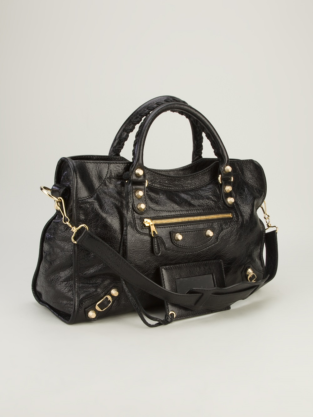 balenciaga arena classic city bag in black lyst. Black Bedroom Furniture Sets. Home Design Ideas