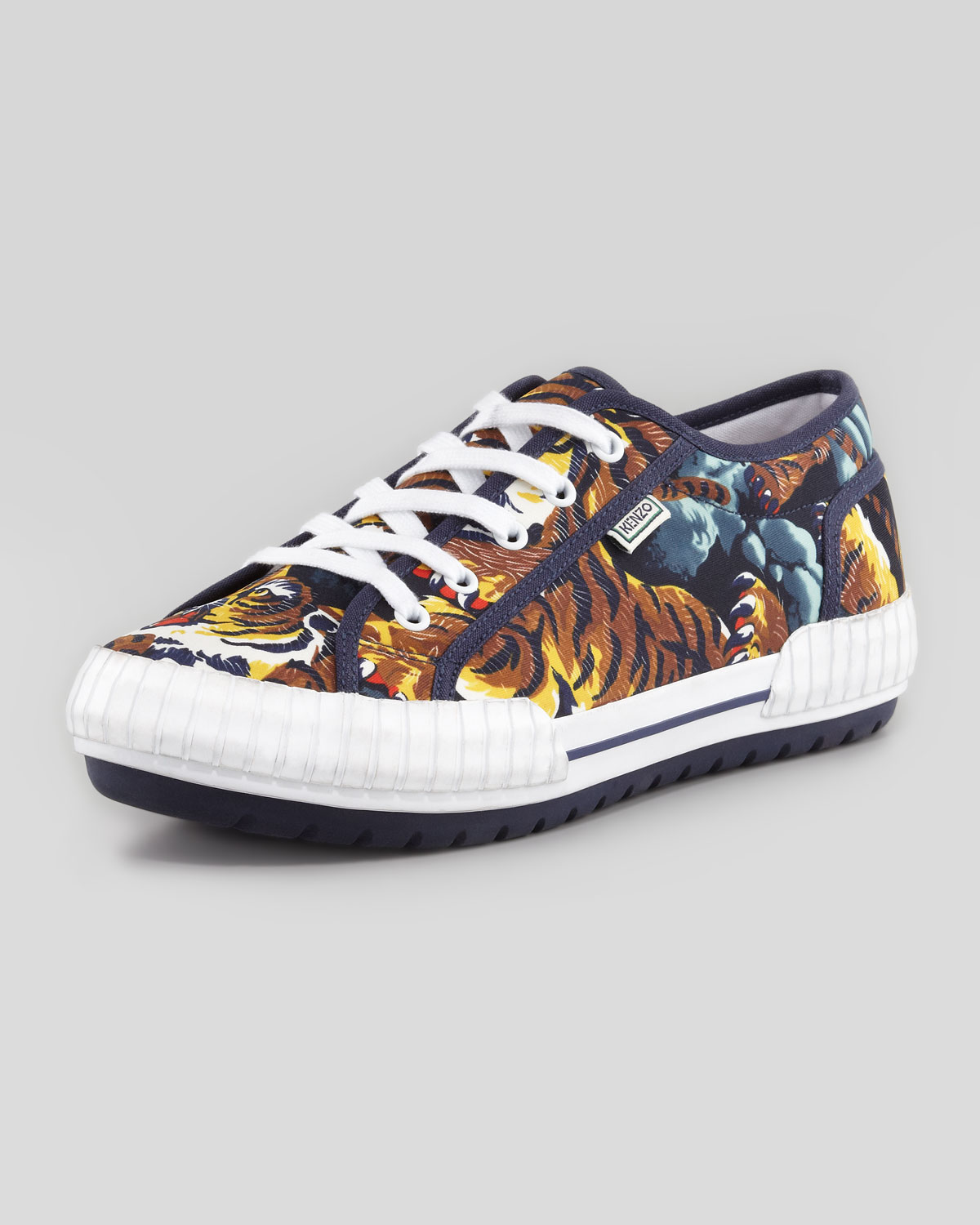 bf5e65c0 KENZO Multicolor Helmut Flying Tiger Lowtop Sneaker