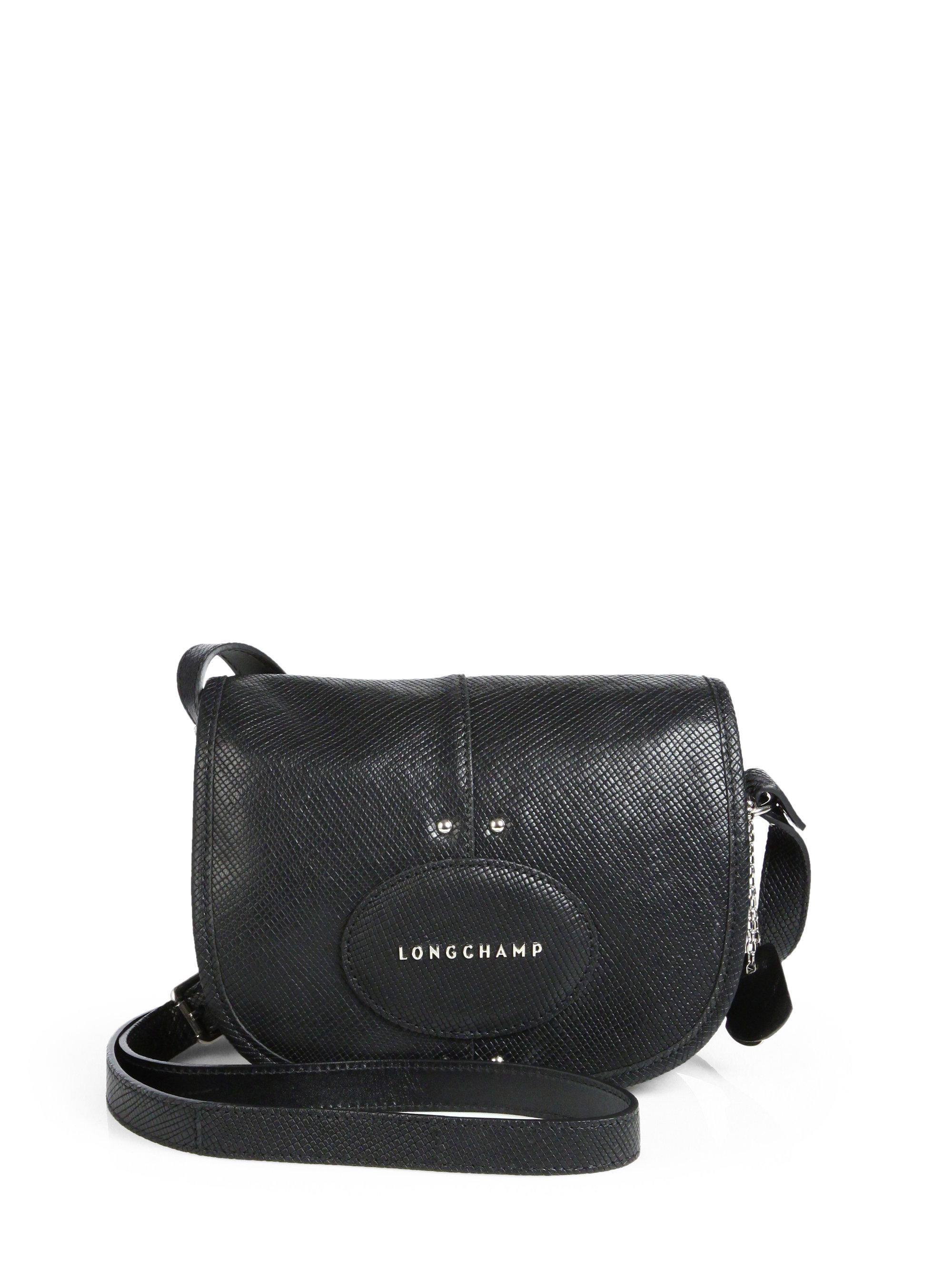 Lyst Longchamp Quadri Crossbody Bag In Black