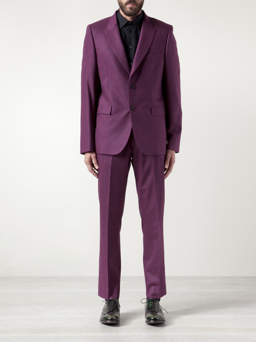 Lyst Paul Smith Formal Suit Jacket In Purple For Men