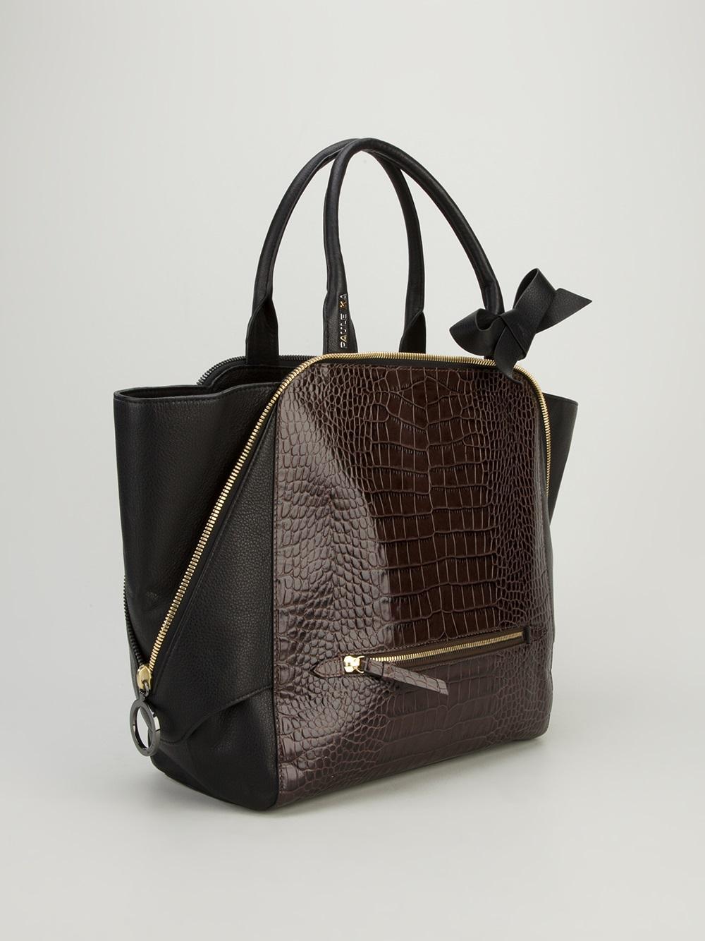 Paule Ka Tote Bag in Brown