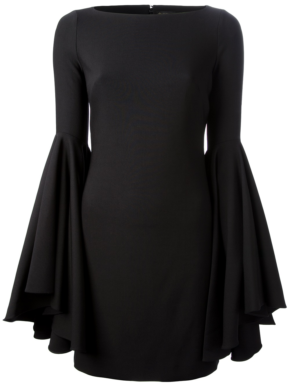 Lyst Plein Sud Flared Sleeve Dress In Black