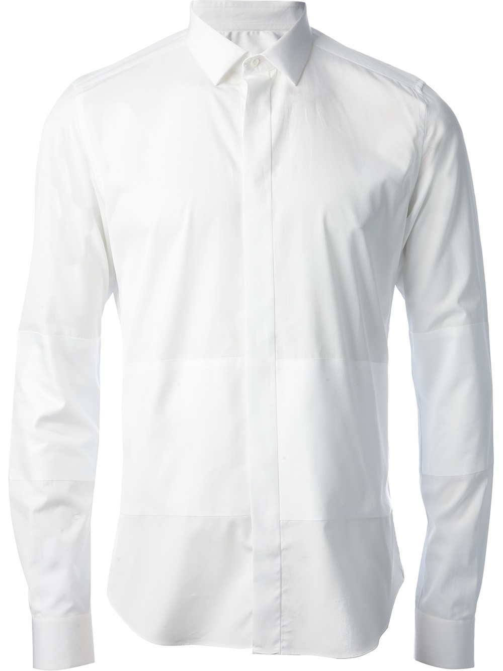 valentino collared shirt in white for men lyst