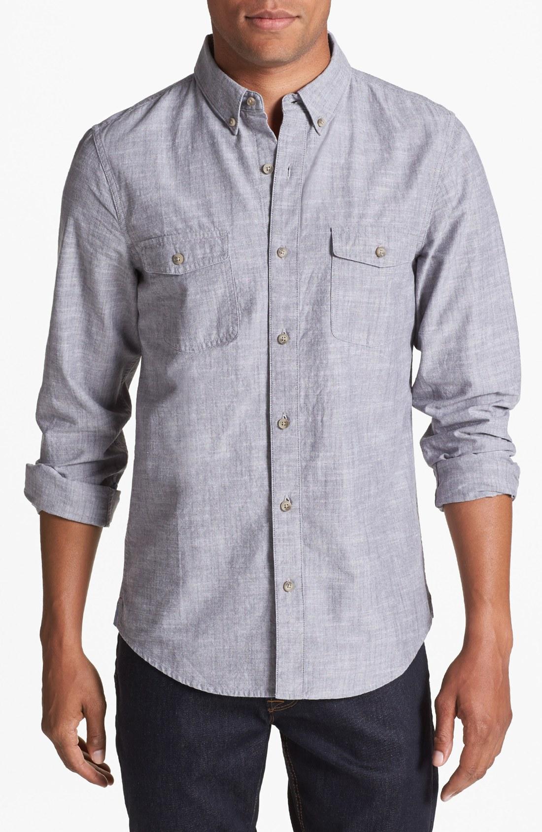 Uniqlo Chambray Shirt