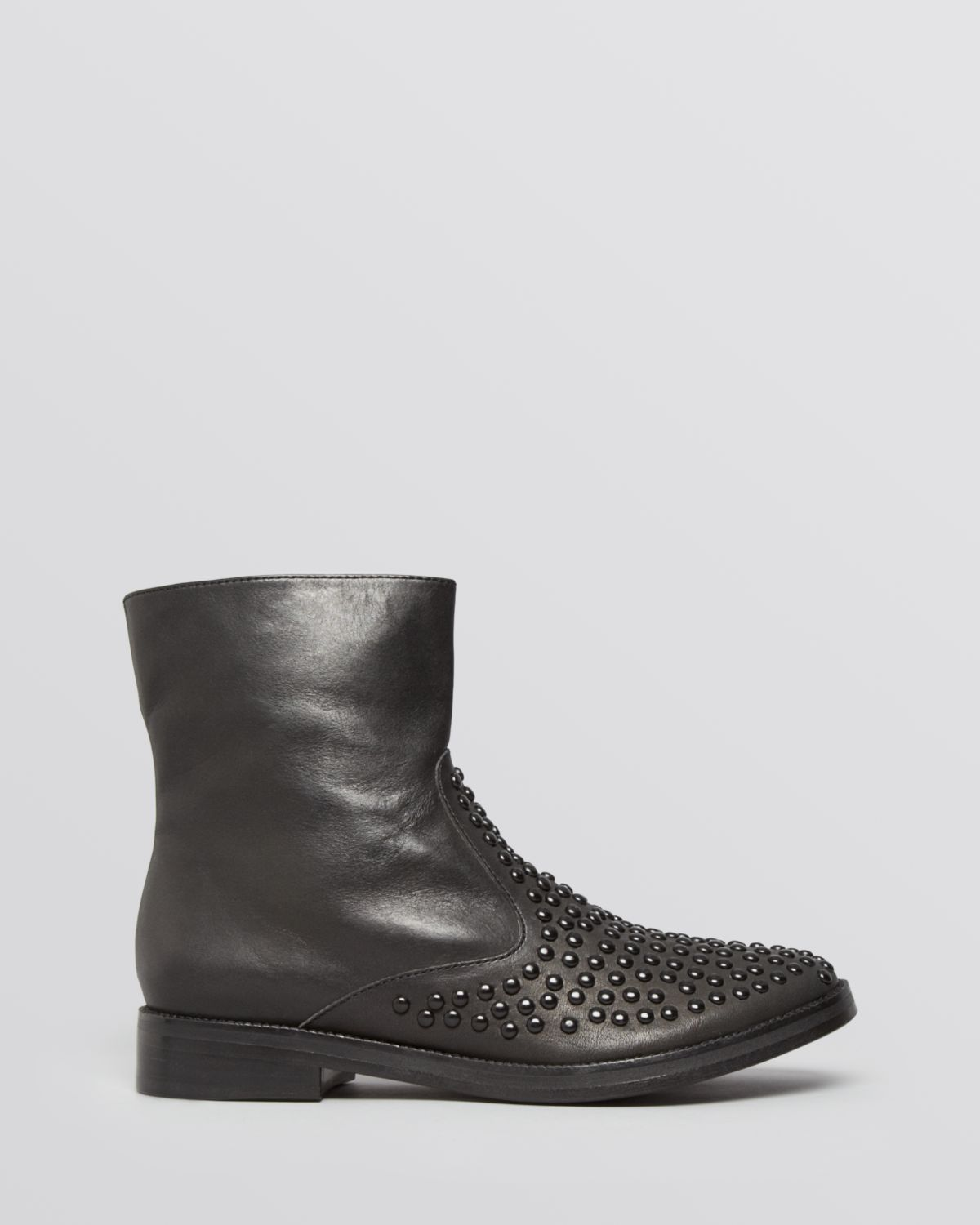Ash Boots Duran Studded in Black