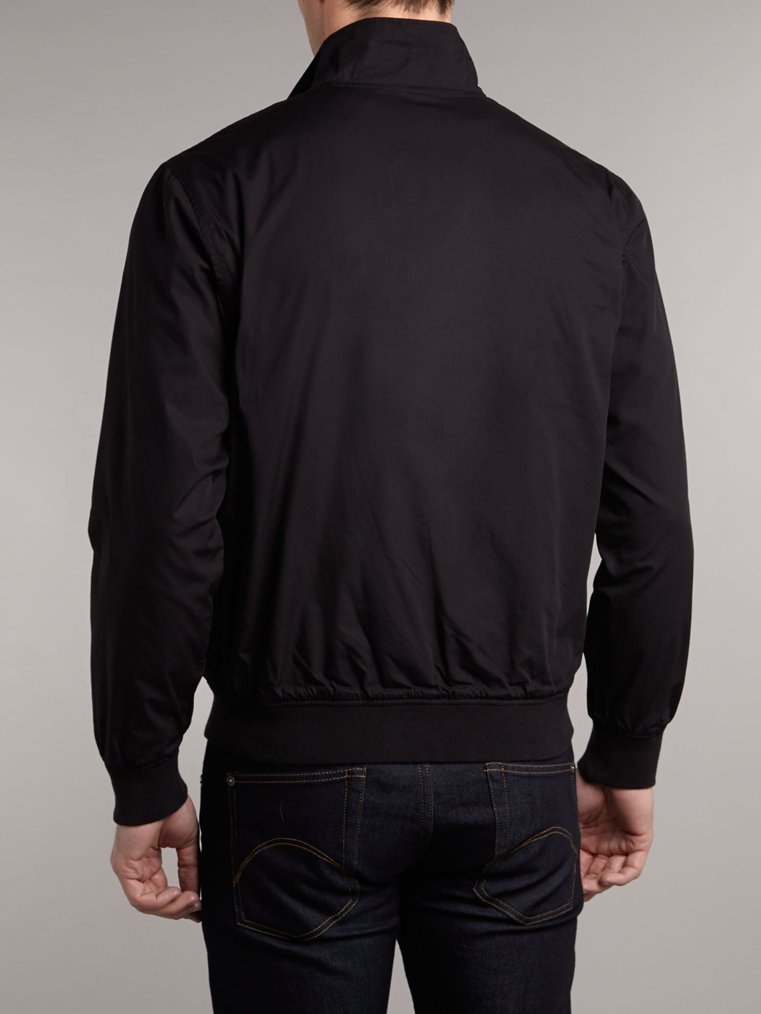 Lyst Fred Perry Sailing Jacket In Black For Men
