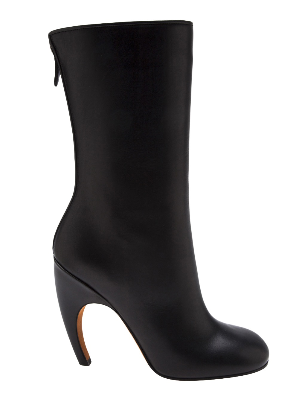 Givenchy Curved Heel Boot in Black