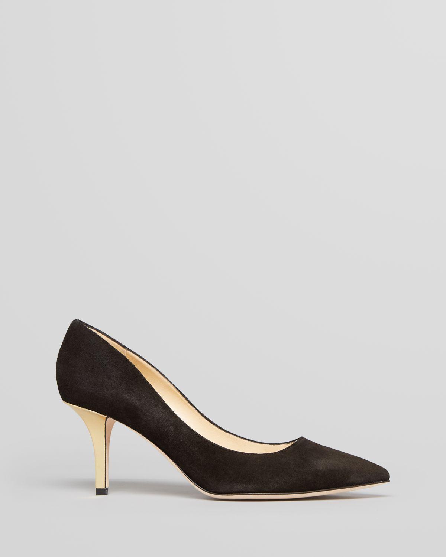 4ce9fd9a5967 Lyst - Kate Spade Pointed Toe Pumps Jessa High Heel in Black