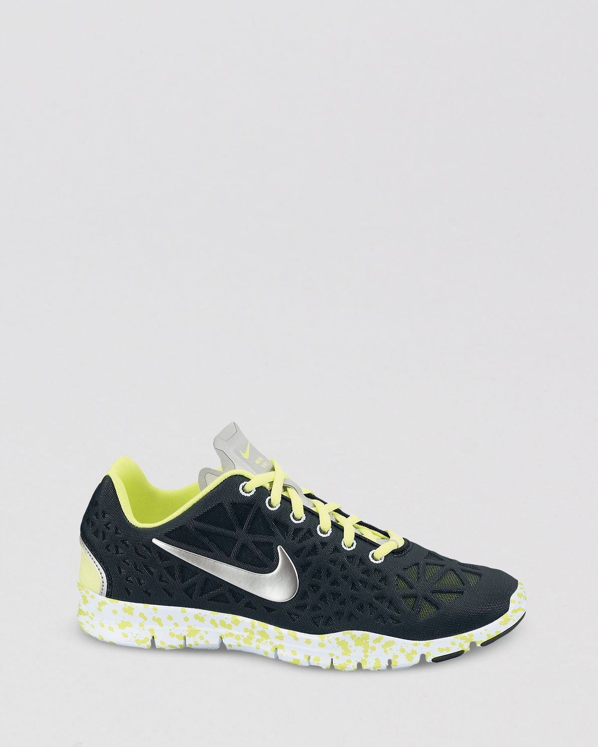 3d40ae0fe916 Lyst - Nike Lace Up Sneakers Womens Free Tr Fit 3 in Black
