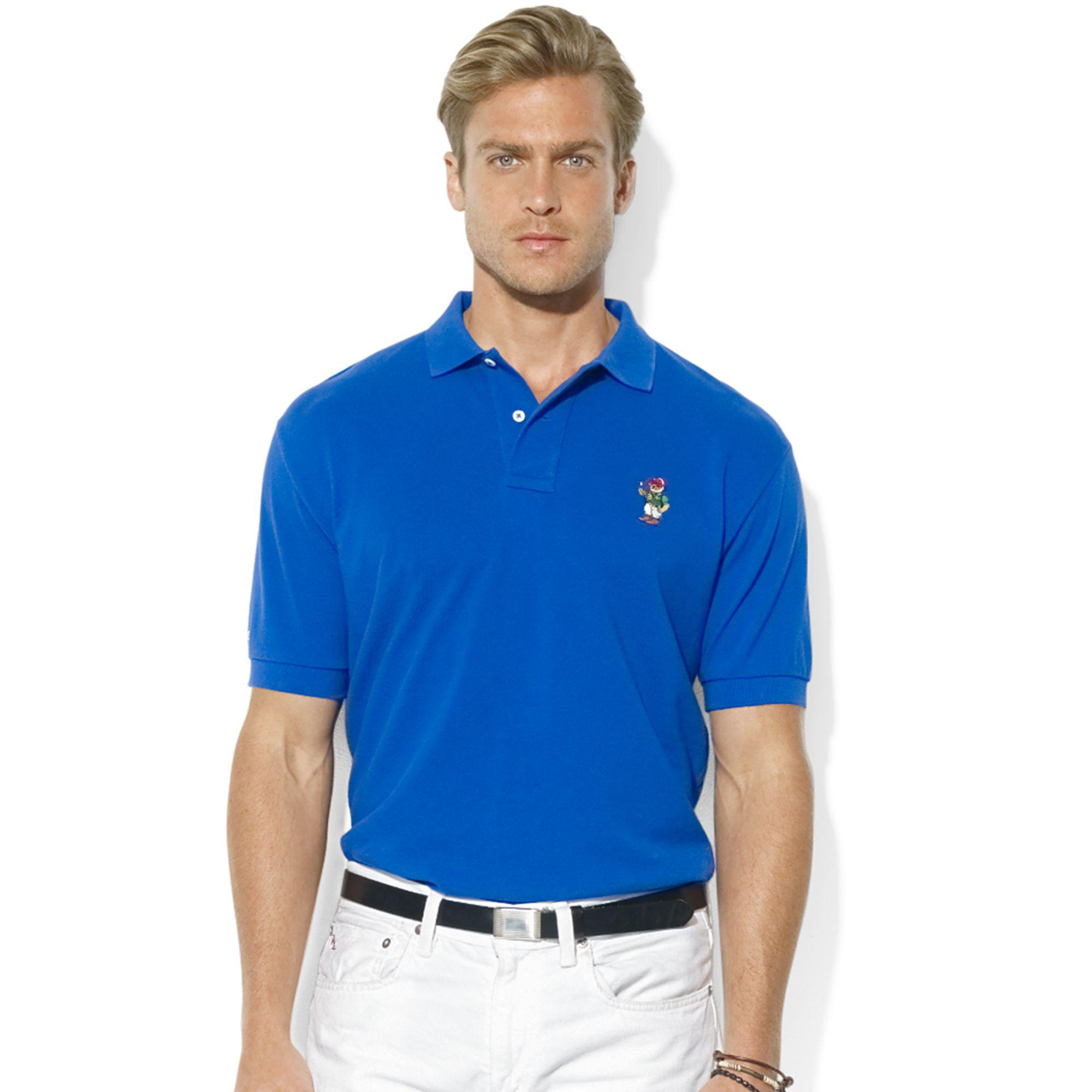 Polo Ralph Lauren For Blue Classicfit Shortsleeve Men Bear tsQCBdhrx