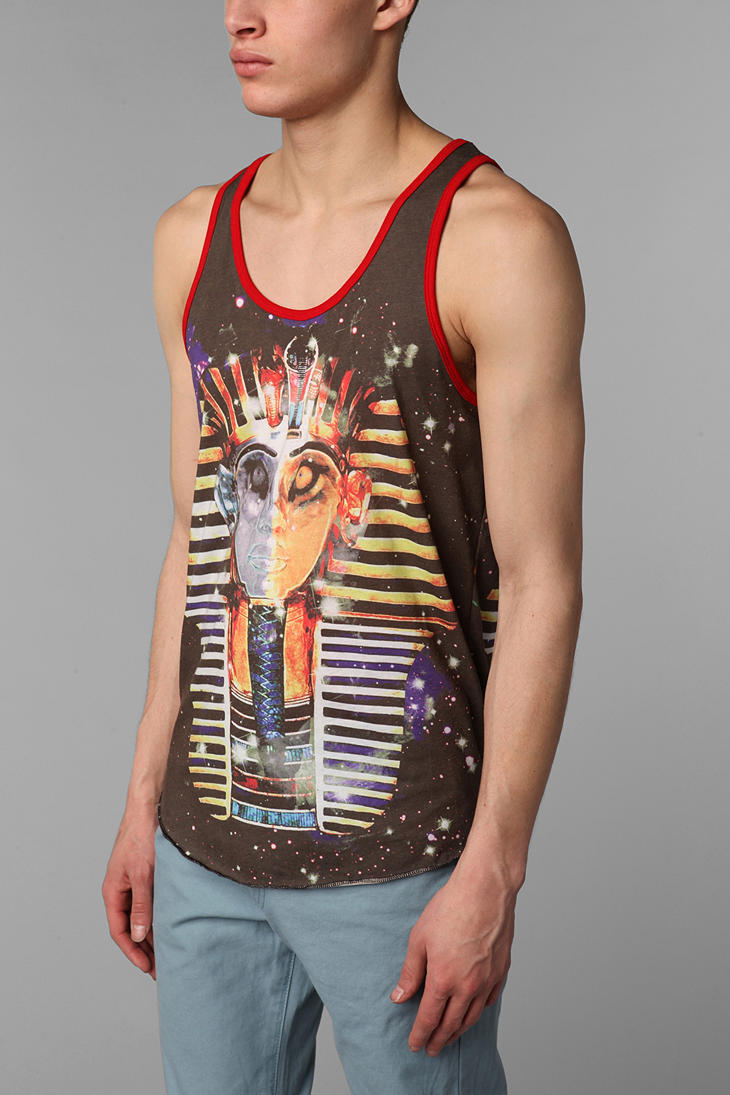 8f98315610bd71 Lyst - Urban Outfitters Altru Pharaoh Tank Top in Black for Men