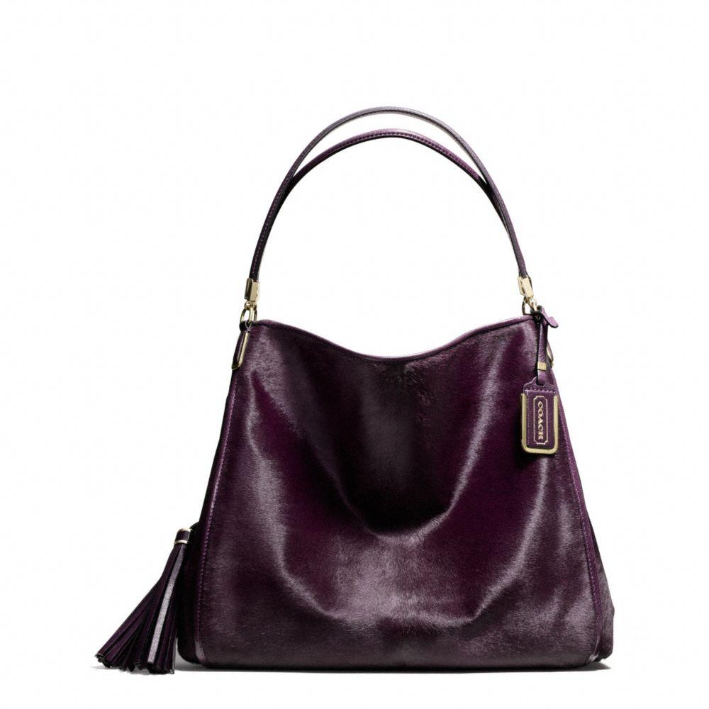 Womens Coach Madison COACH 26224 Madison Phoebe Black Satchel Tote Shoulder  Bag ... 7662691c81