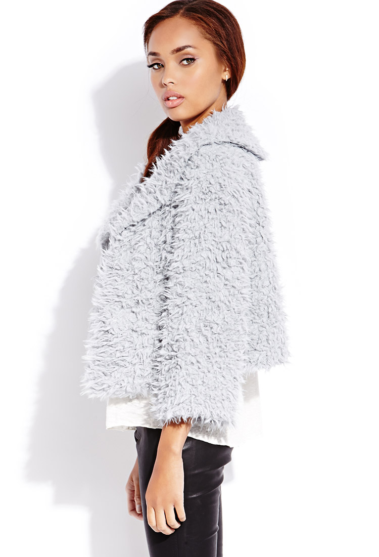 faux fur collar jacket uk