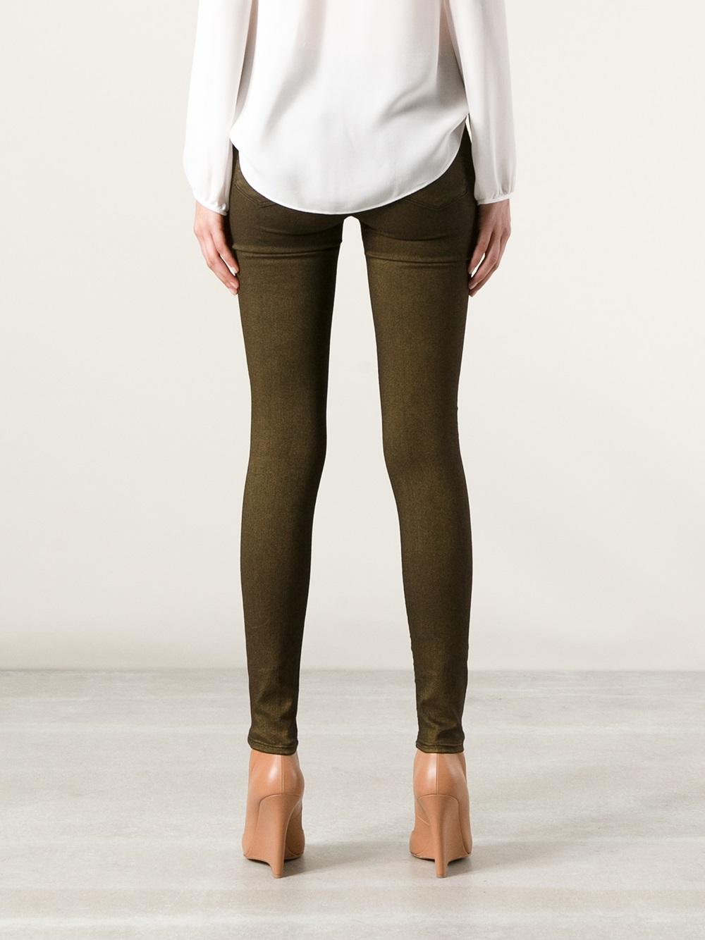 J Brand Nebula Jeans in Brown