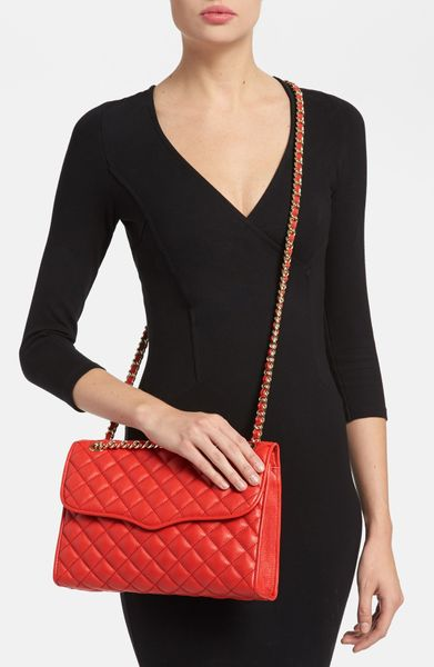 Rebecca Minkoff Affair Quilted Convertible Crossbody Bag