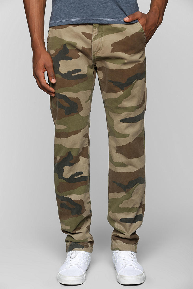 Urban Outfitters Vans Excerpt Camo Pant In Natural For Men