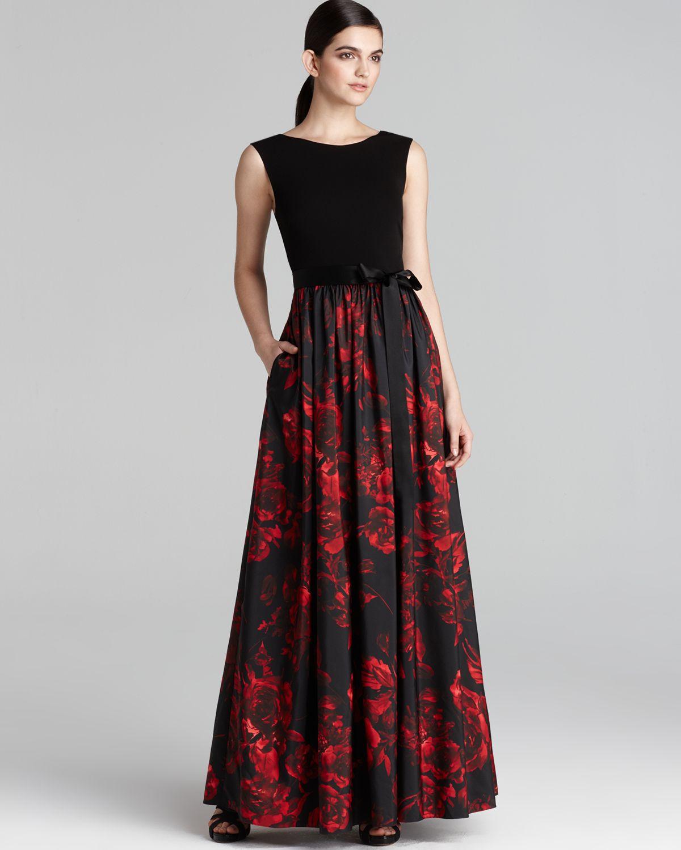 Nordstrom aidan mattox black stretch dress