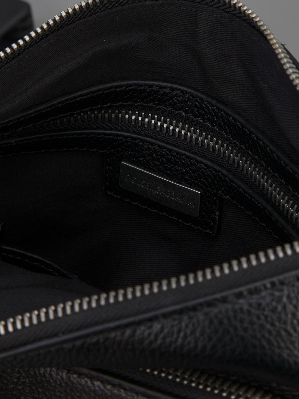 Dolce & Gabbana Small Crossbody Bag in Black for Men