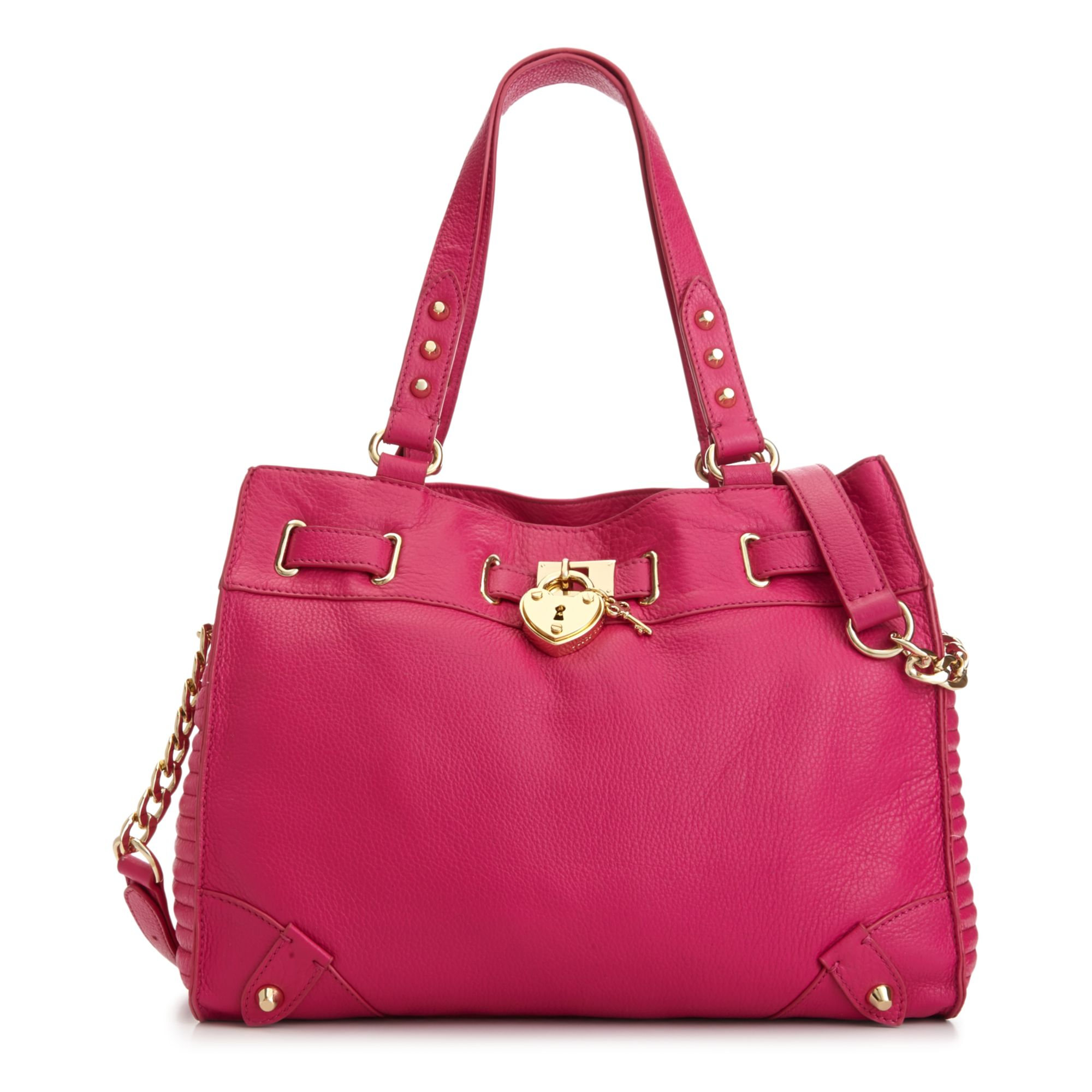 Lyst - Juicy couture Robertson Leather Daydreamer Bag in Pink