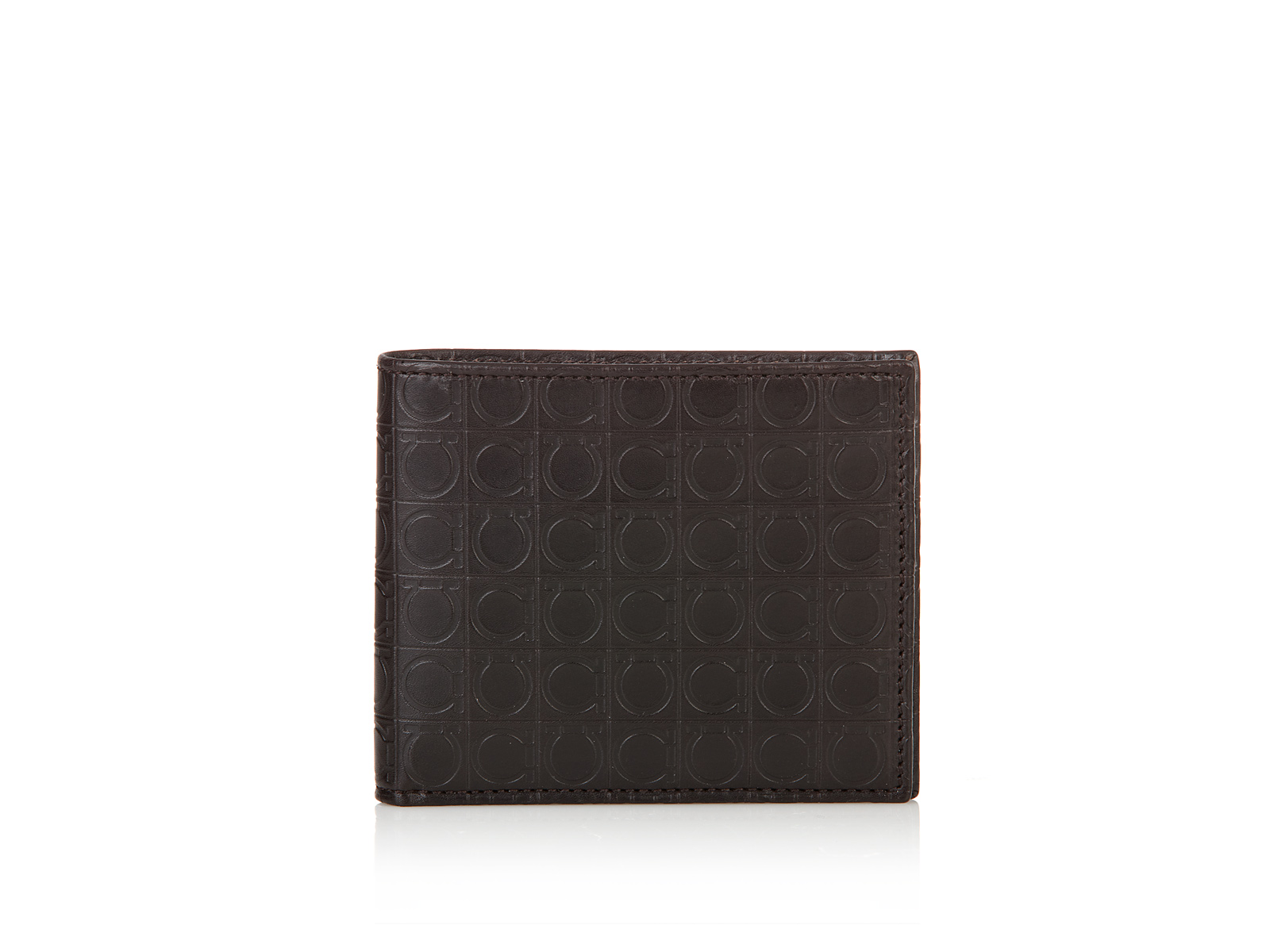 Ferragamo Bifold Wallet in Brown for Men (Caff