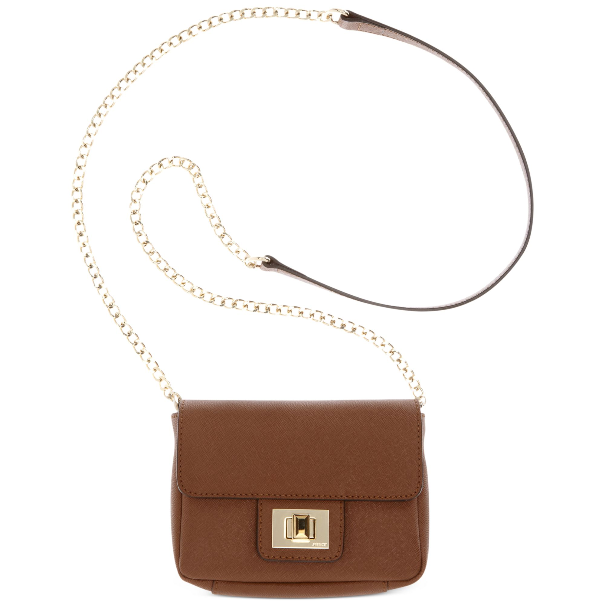 Lyst - Juicy Couture Sophia Mini Bag in Brown 0d449d7cde6a