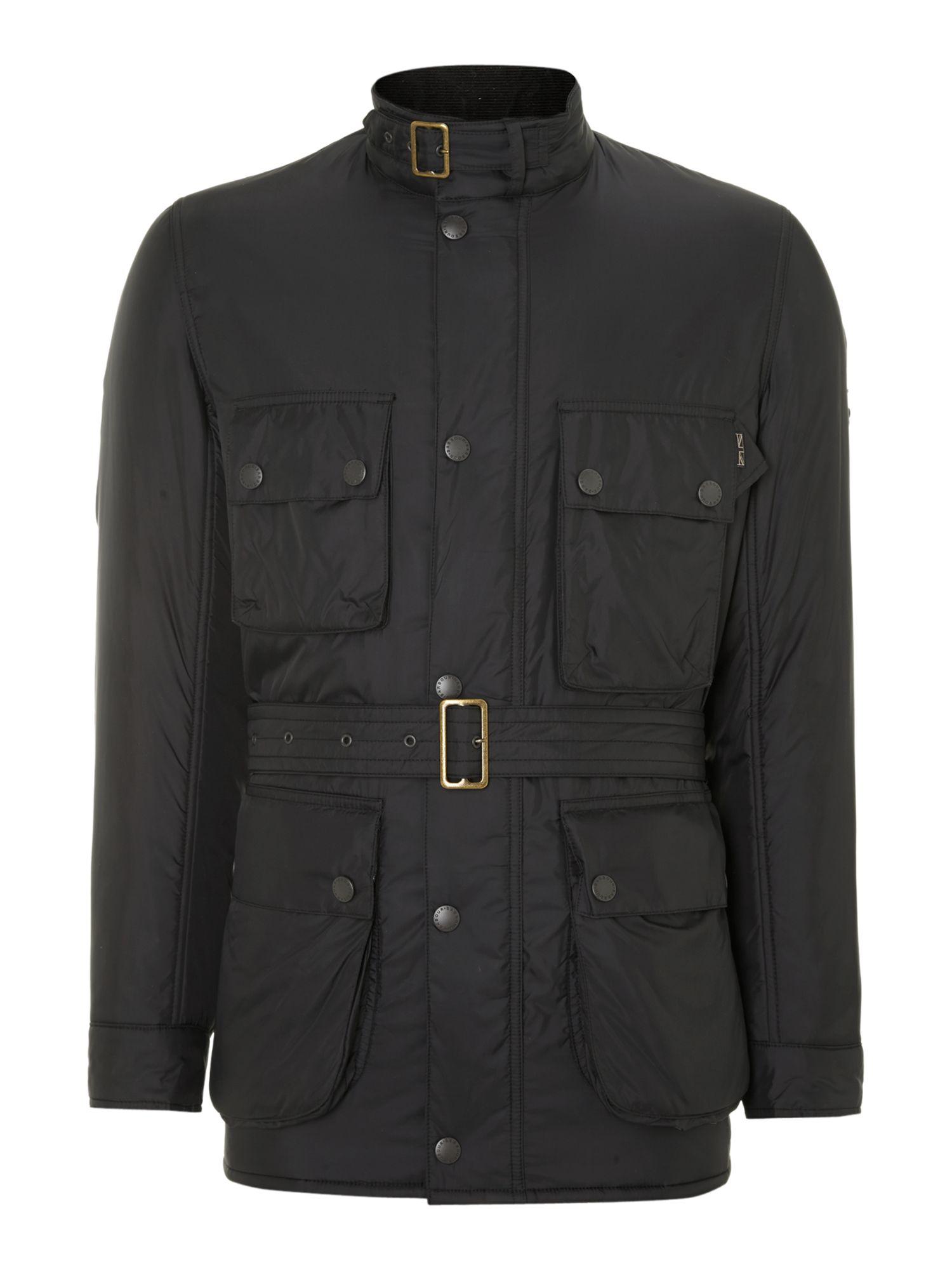 Barbour Padded International Jacket In Black For Men Lyst