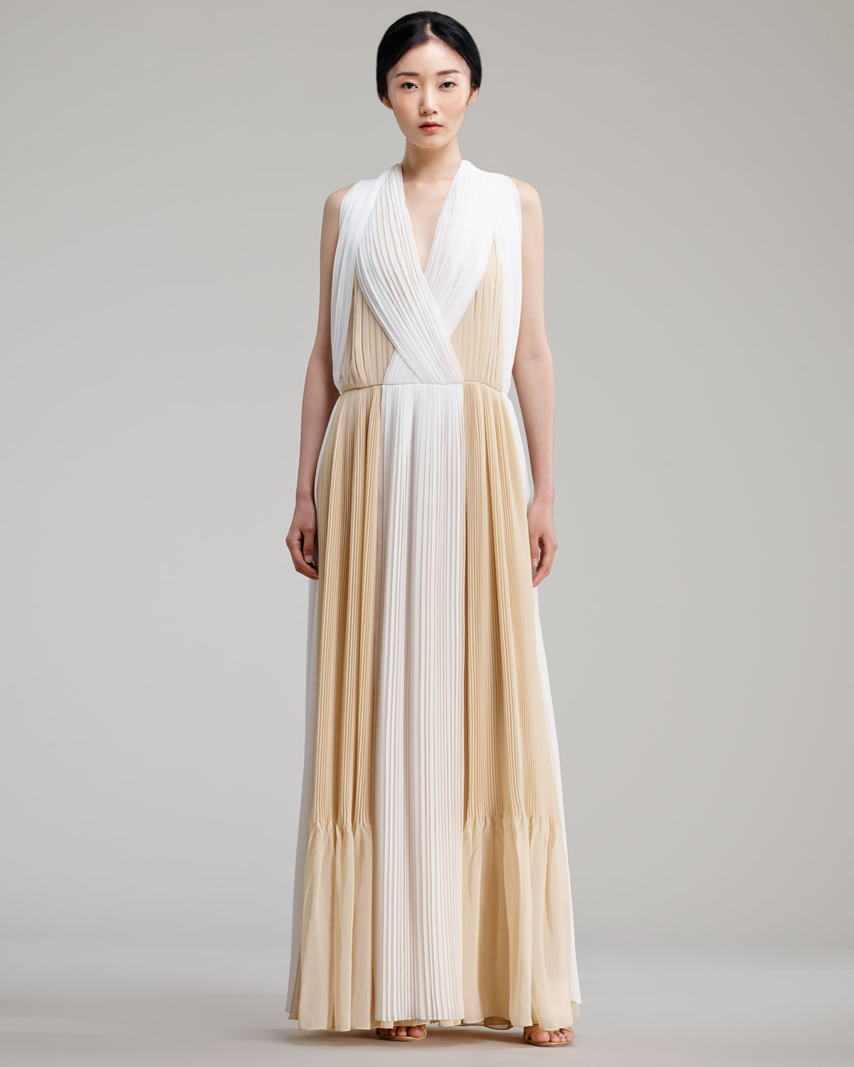Pleated dress Chlo zAXiUQm