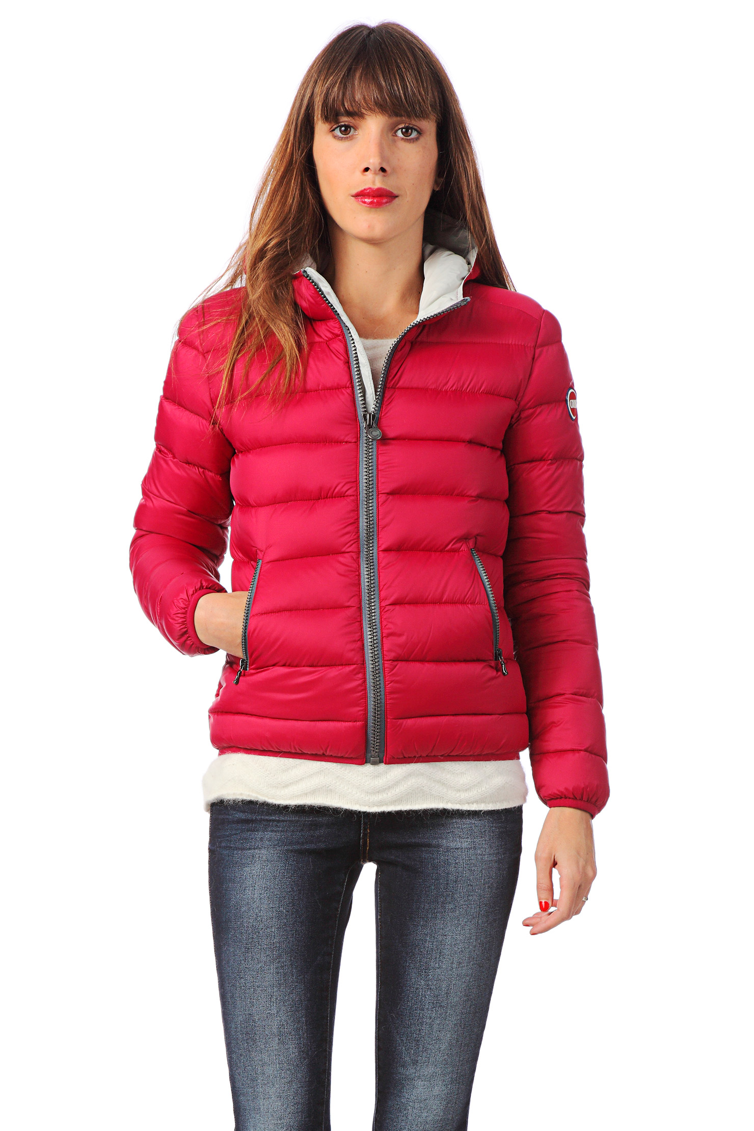 Colmar Quilted Jacket in Pink | Lyst