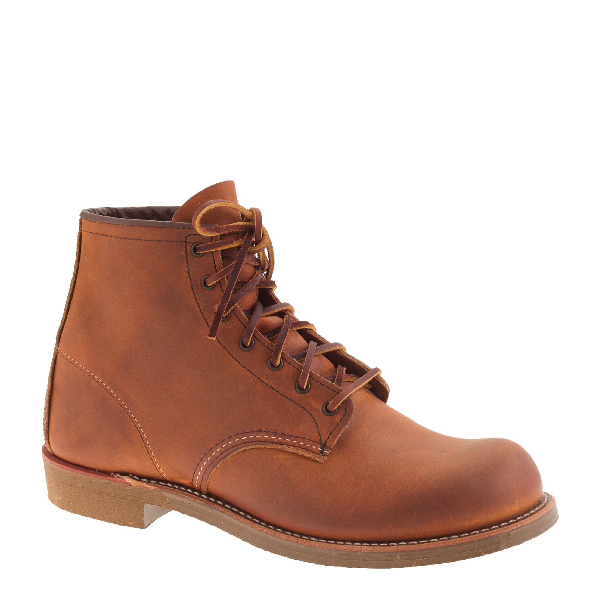 lyst j crew red wing for munson boots in brown for men. Black Bedroom Furniture Sets. Home Design Ideas