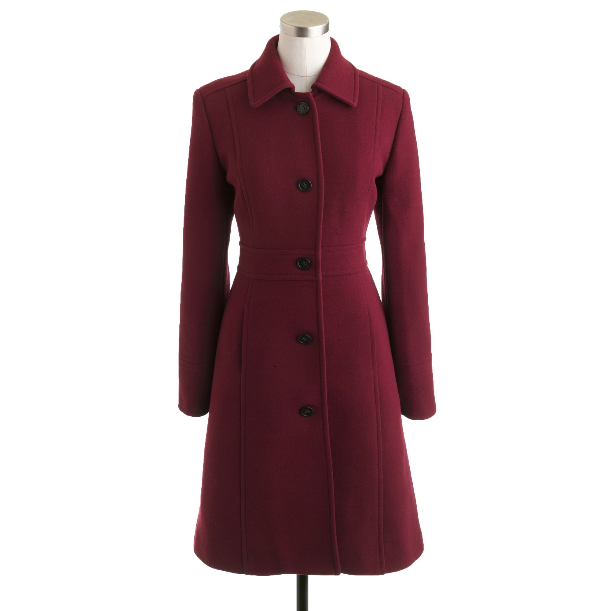 J Crew Petite Doublecloth Lady Day Coat With Thinsulate In