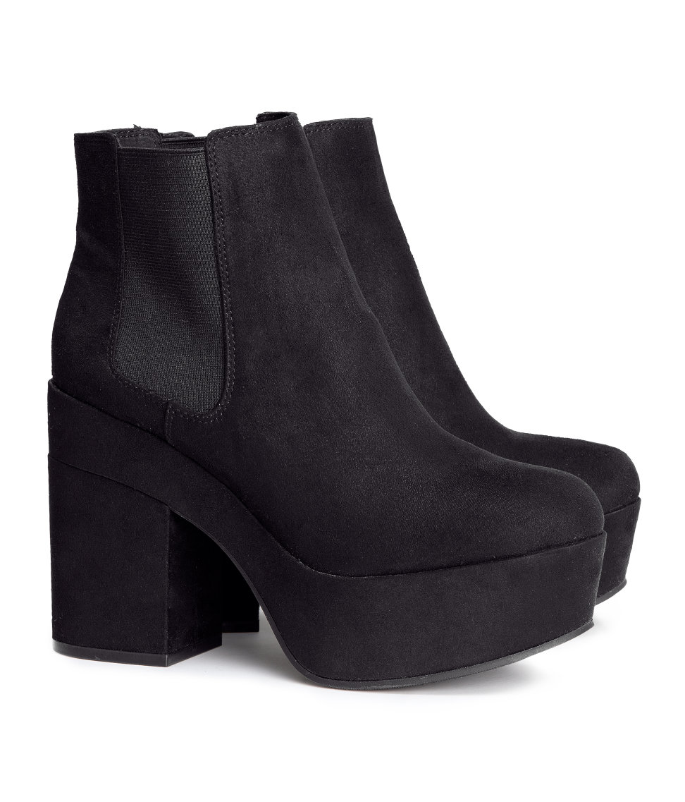 Find black platform boots at ShopStyle. Shop the latest collection of black platform boots from the most popular stores - all in one place.