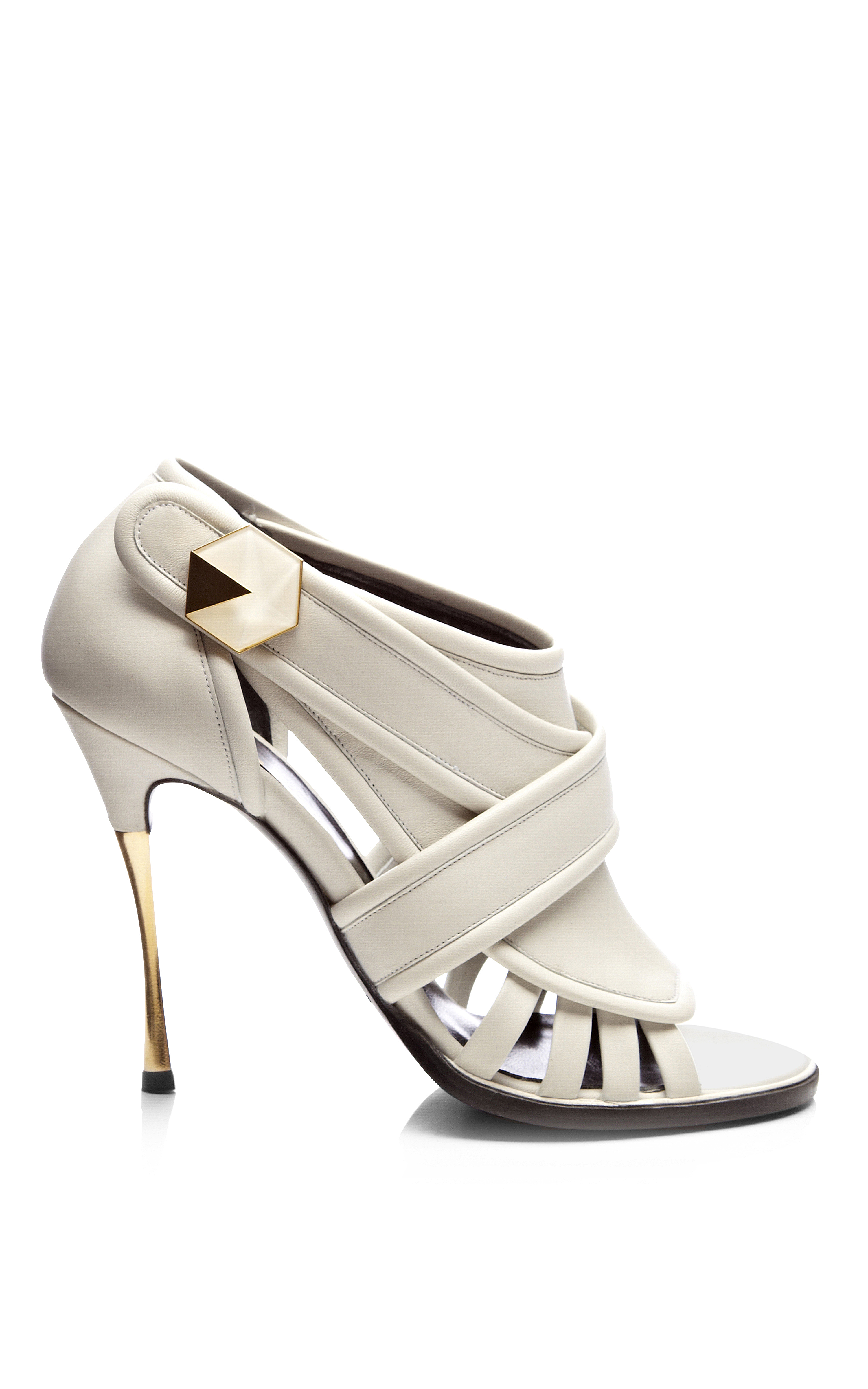 for sale cheap online cheap price from china Nicholas Kirkwood Metallic Cage Sandals cheap sale discount recommend xX3W3