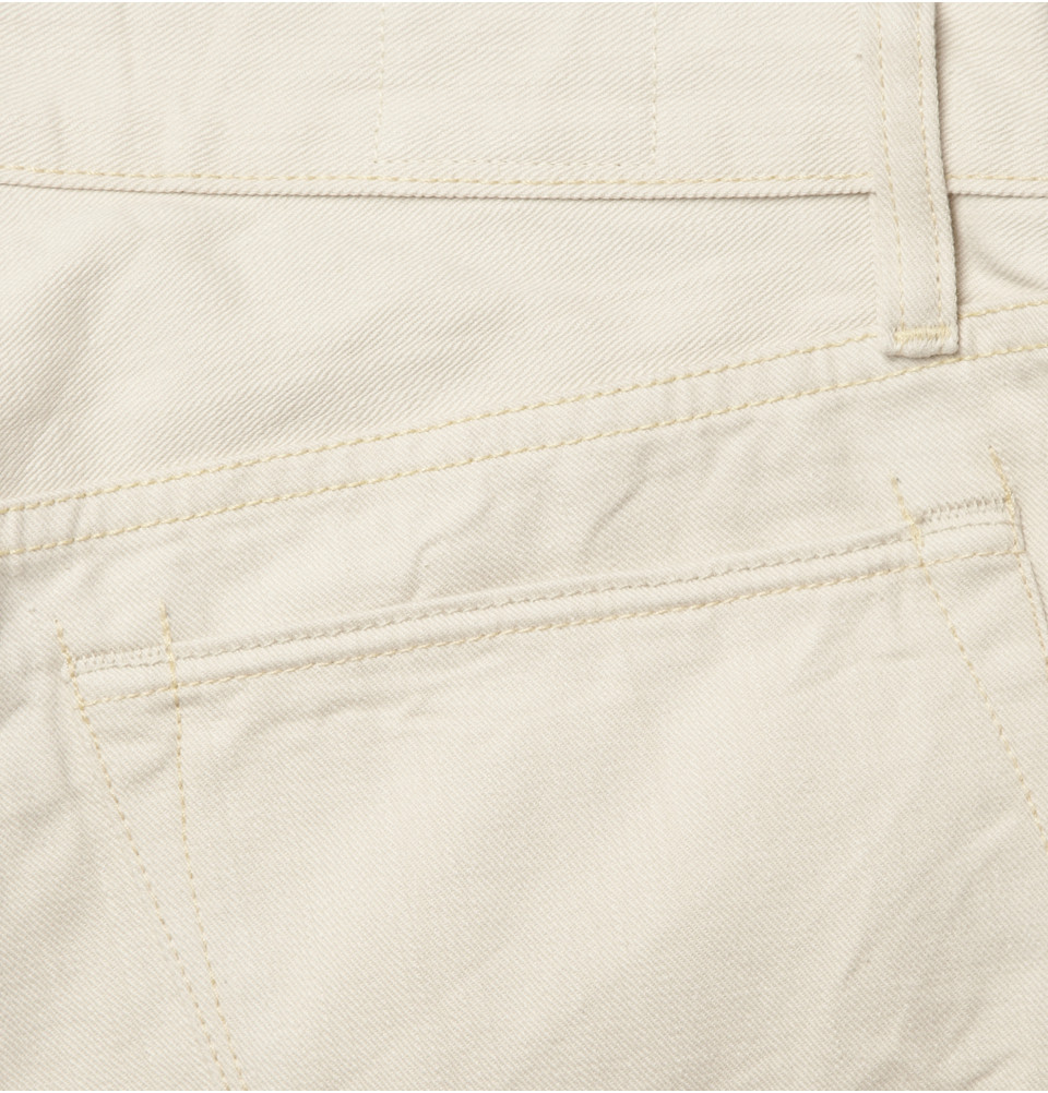 Todd Synder X Champion Slimfit Washed Selvedge Denim Jeans in White (Natural) for Men