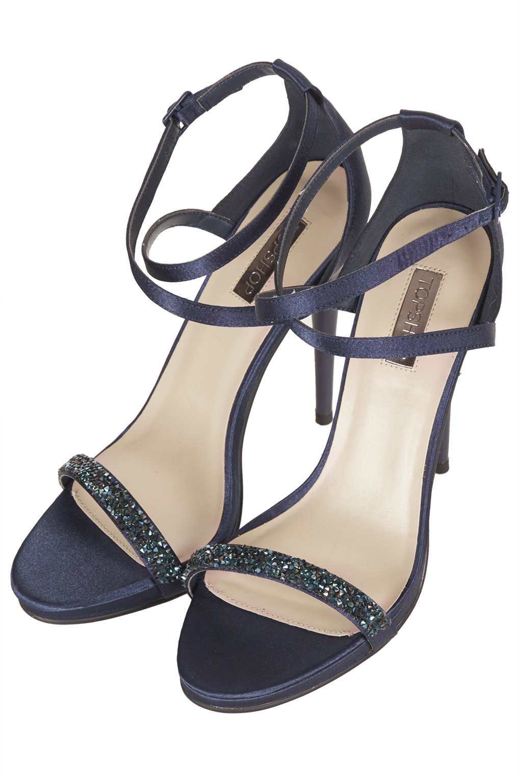navy sparkly sandals factory outlet