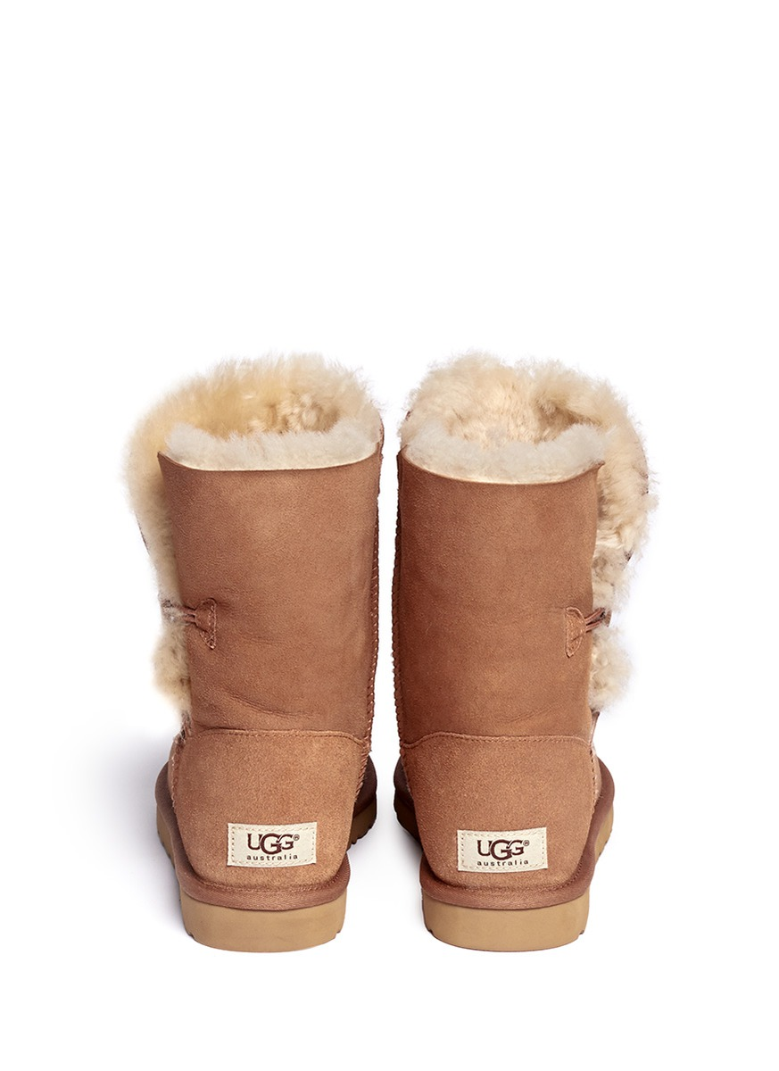 my bailey button uggs are folding