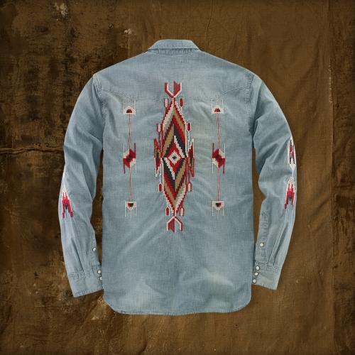 Lyst - Denim  Supply Ralph Lauren Embroidered Western -3780