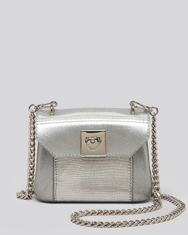 Lyst Furla Shoulder Bag Metallic Candy Mini In Metallic