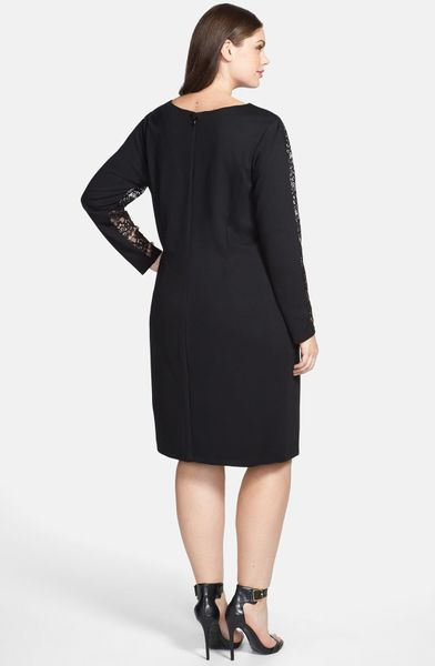 Jessica Simpson Lace Dress In Black Lyst
