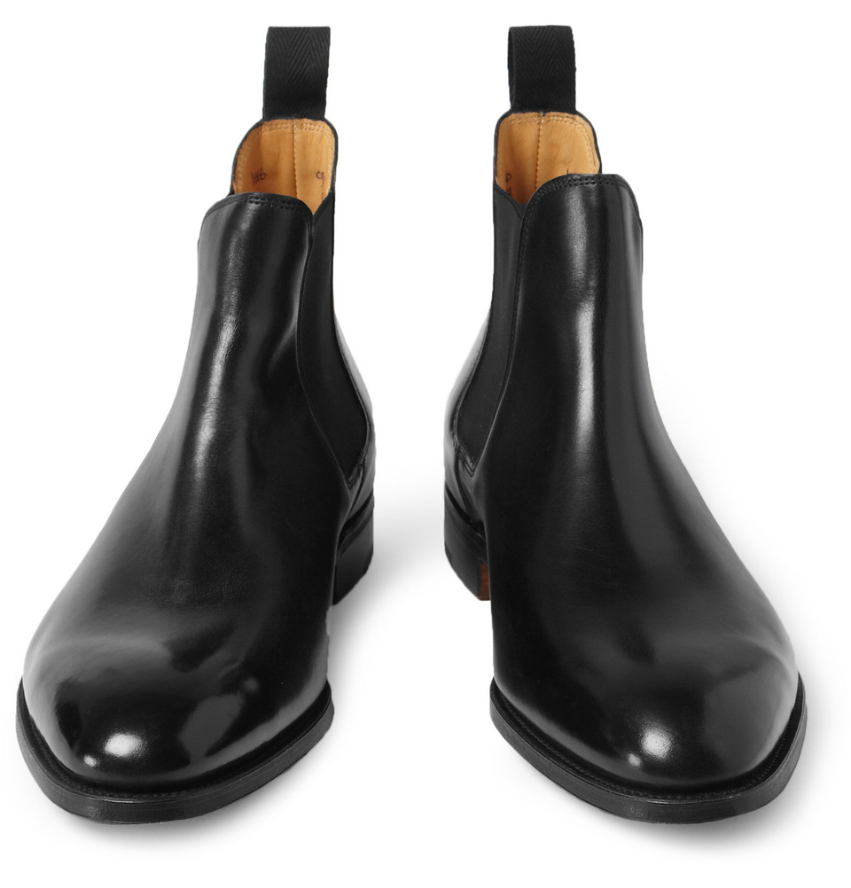 Lyst John Lobb Chesland Leather Chelsea Boots In Black