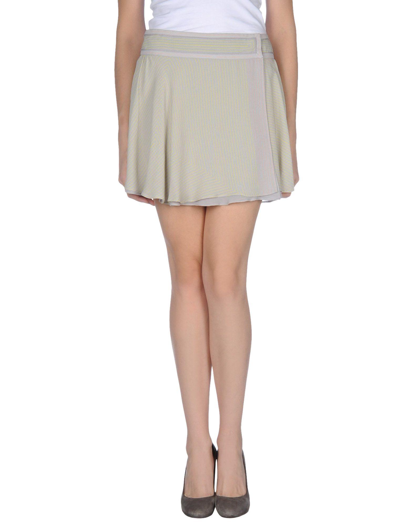 Grey Mini Skirt 29