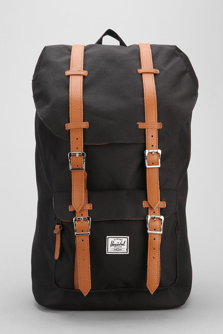 Lyst - Urban Outfitters Herschel Supply Co Little America Suede ... a7e896c941313