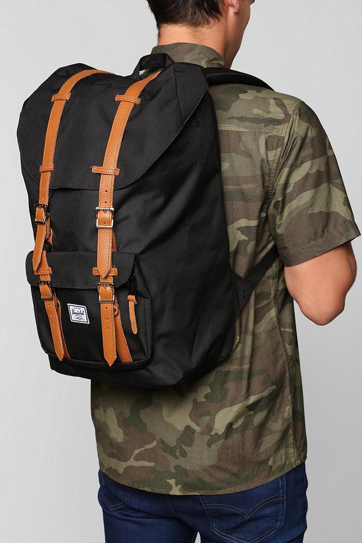 c0898c6f5bb Herschel Backpack Black Little America- Fenix Toulouse Handball