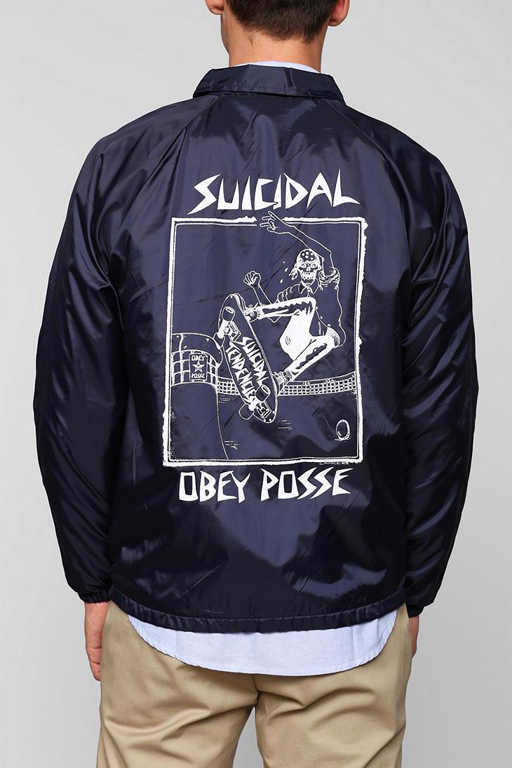 7cd4df0dff5f62 Lyst urban outfitters obey suicidal tendencies pool skater jpg 730x1095 Suicidal  tendencies coats