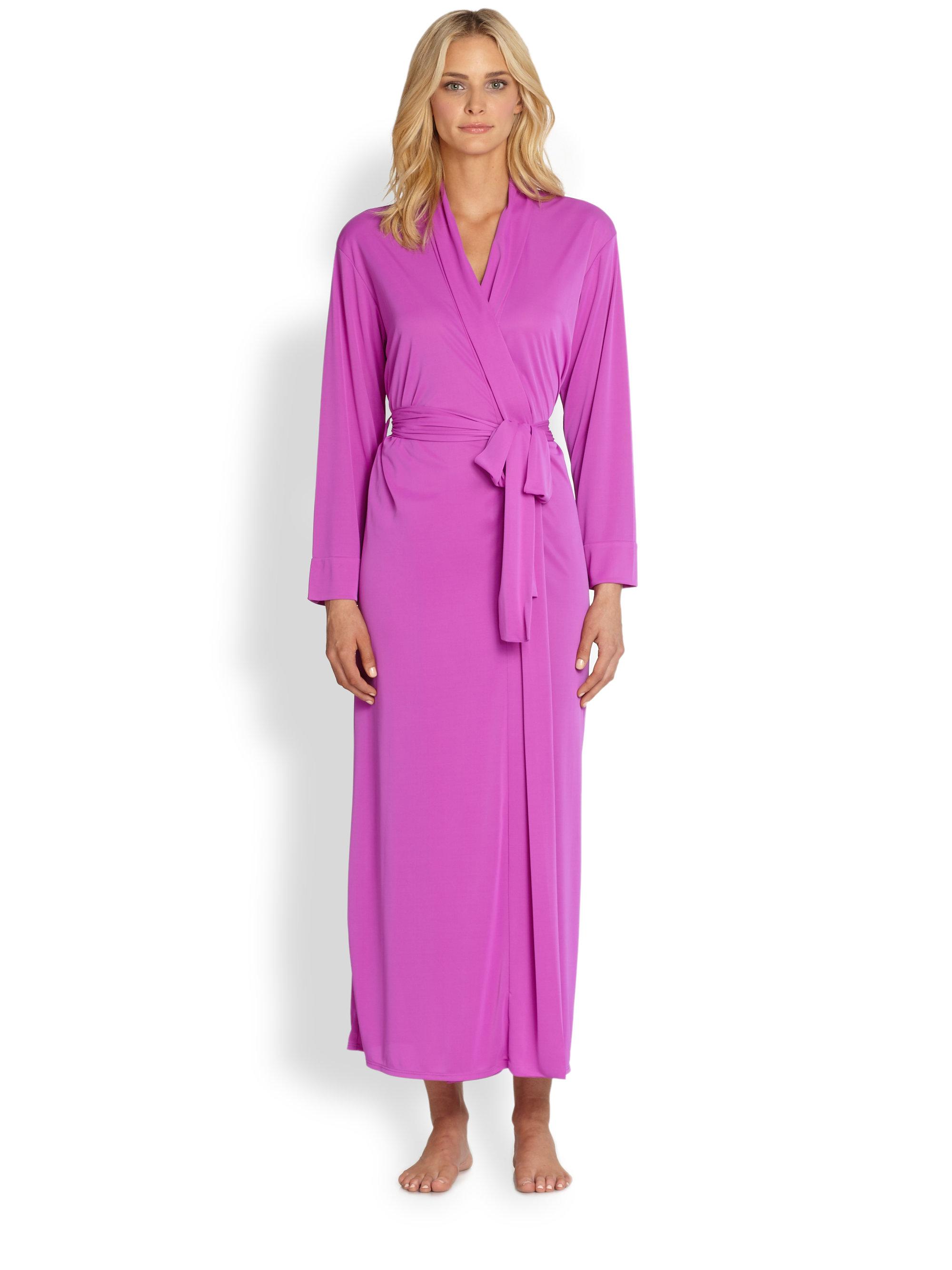 Lyst - Natori Aphrodite Robe in Purple