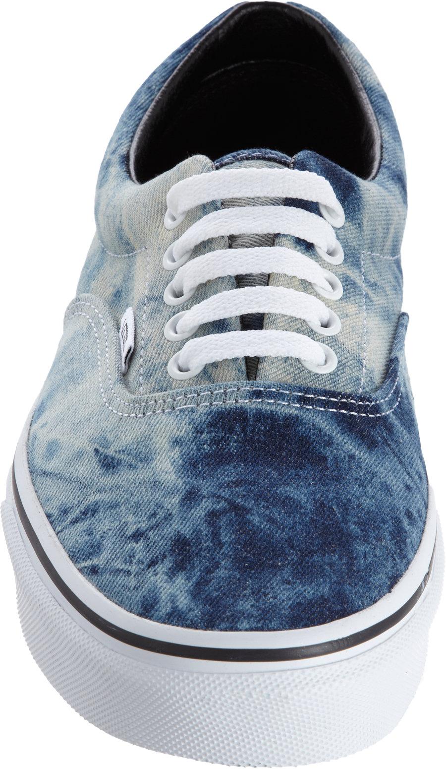 Lyst Vans Acid Denim Era In Blue For Men
